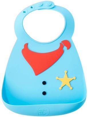 Baby Essentials Make My Day, Inc. Make My Day Baby Bib, Sheriff