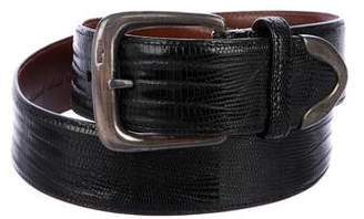 Ralph Lauren Lizard Waist Belt