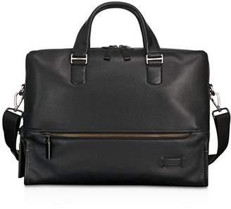Tumi Harrison Leather Horton Double Zip Briefcase