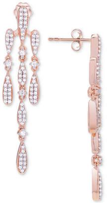 Wrapped in Love Diamond Chandelier Earrings (3/4 ct. t.w.) in 14k Rose Gold, Created for Macy's