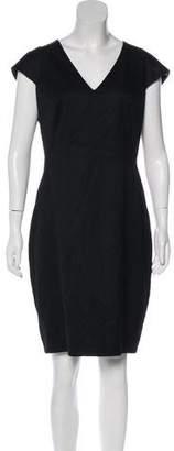 Ted Baker Wool-Blend Knee-Length Dress
