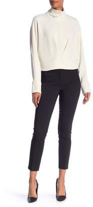 Amanda & Chelsea Elastic Waist Slim Crop Pants
