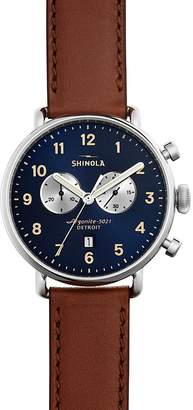 Shinola The Canfield Chronograph Watch, 43mm $850 thestylecure.com