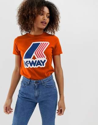 K-Way K Way pete logo tee