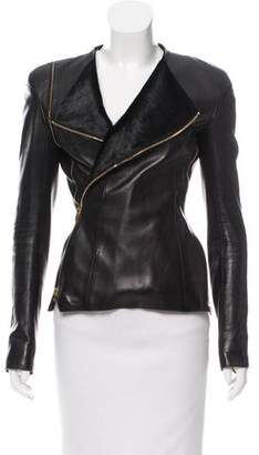 Tom Ford Asymmetrical Leather Jacket