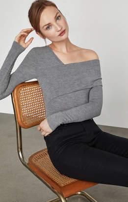 BCBGMAXAZRIA Asymmetric One Shoulder Bodysuit