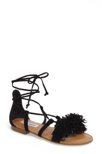 Steve Madden Women's Swizzle Lace-Up Sandal