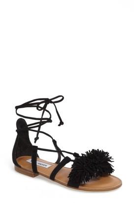 Women's Steve Madden Swizzle Lace-Up Sandal $79.95 thestylecure.com