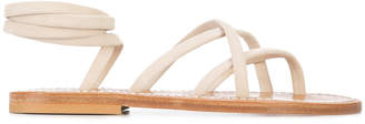 K. Jacques strappy flat sandals