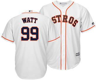 Majestic Men's J.j. Watt Houston Astros Nflpa Replica Cool Base Jersey
