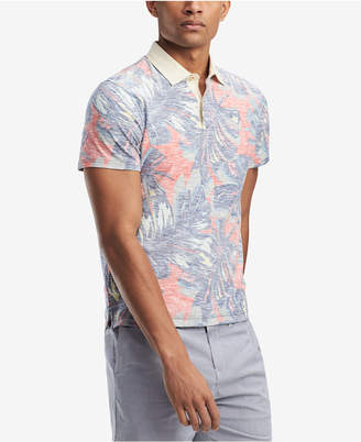 Tommy Hilfiger Men's Floral Custom Fit Polo, Created for Macy's