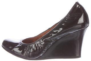 LanvinLanvin Patent Leather Wedges