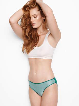 Victoria's Secret Stretch Cotton Shine Bikini Panty