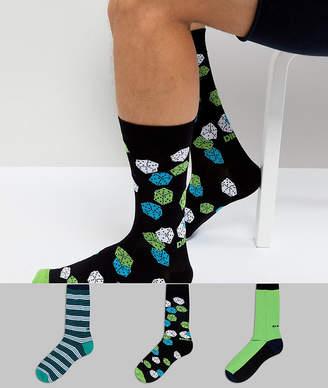 Diesel 3 Pack Dice Socks in Gift Box