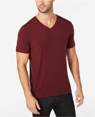 INC International Concepts I.n.c. Men's Dressy V-Neck T-Shirt