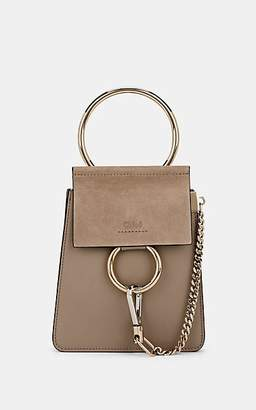 Chloé Women s Faye Mini Leather   Suede Bag - Gray 615fb1865