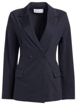Fabiana Filippi Double Breasted Jersey Blazer