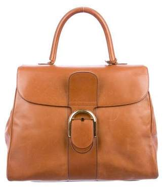 Delvaux Brilliant Leather Handle Bag