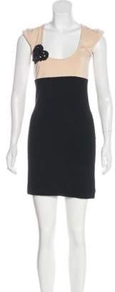 Twin-Set Twin.Set Embellished Mini Dress