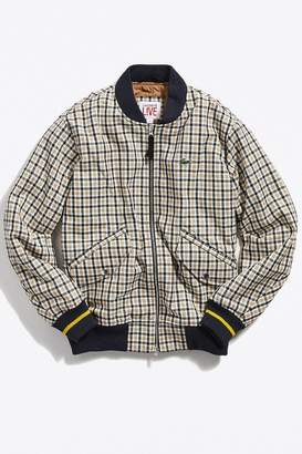 09455c2a66 at Urban Outfitters · Lacoste LIVE Wool Bomber Jacket
