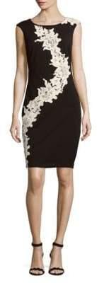 Jax Floral Lace Sheath Dress