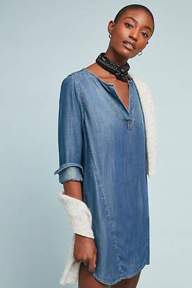 Cloth & Stone Henley Tunic Dress