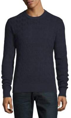 J. Lindeberg Herringbone Cotton Sweater