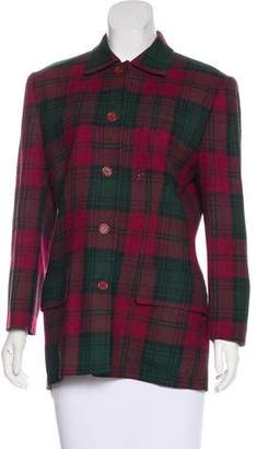 Burberry Vintage Plaid Jacket