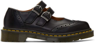 Comme des Garcons Black Dr. Martens Edition Made In England Mary Jane Loafers
