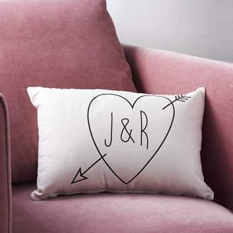 Modo creative Personalised Initials Cupid Cushion