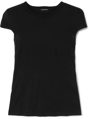 Ann Demeulemeester Cotton-jersey T-shirt - Black