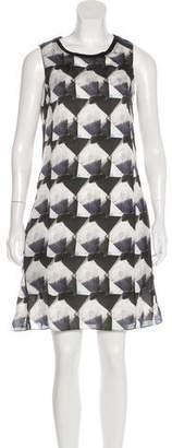 Theyskens' Theory Silk Knee-Length Dress