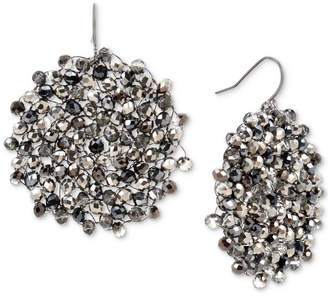 Kenneth Cole New York Colored Bead Woven Drop Earrings