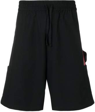 Heron Preston knee length cargo shorts