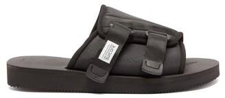 Suicoke Kaw Cab Technical Twill Slides - Mens - Black