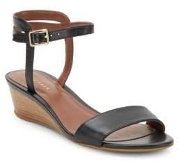 Cole Haan Open-Toe Ankle-Buckle Wedge Sandals