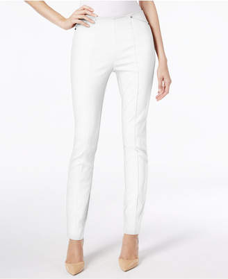 Alfani Seamed Pull-On Skinny Ankle Pants, Created for Macy's $39.98 thestylecure.com
