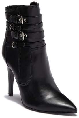 GUESS Emalee Pointed Toe Buckle Bootie