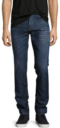 Hudson Men's Sartor Slouchy-Skinny Jeans, Blue