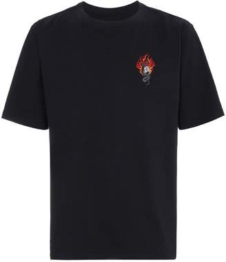 Unravel Project Snake Skate print t shirt
