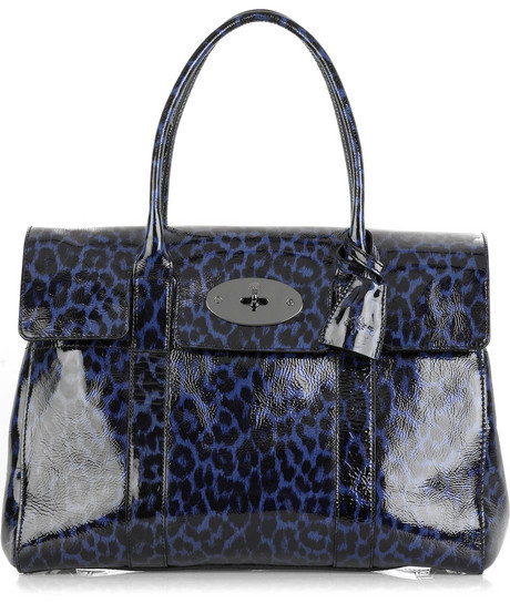 Mulberry Leopard Bayswater bag