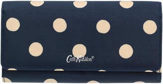 Cath Kidston Button Spot Large Foldover Wallet