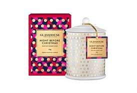 Glasshouse Fragrances Night Before Christmas Triple Scented 350G Candle