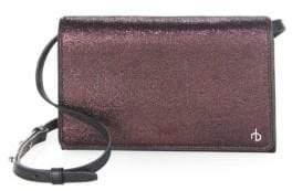 Rag & Bone Textured Leather Crossbody Wallet