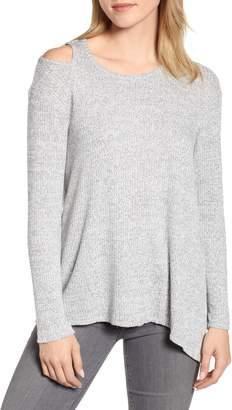 Wit & Wisdom Asymmetrical Knit Top