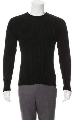 Helmut Lang Vintage Rib Knit Crew Neck Sweater