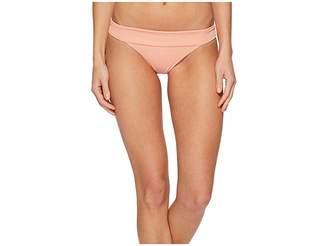 L-Space Ridin' High Ribbed Veronica Bottom Women's Swimwear