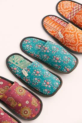 Aloha Slippers Vintage Kantha Slipper