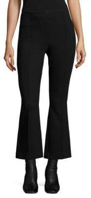 Helmut Lang Cropped Scuba Flared Pants