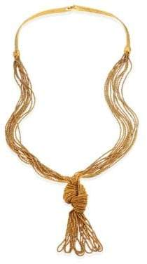 Aurelie Bidermann Miki Knotted Long Necklace